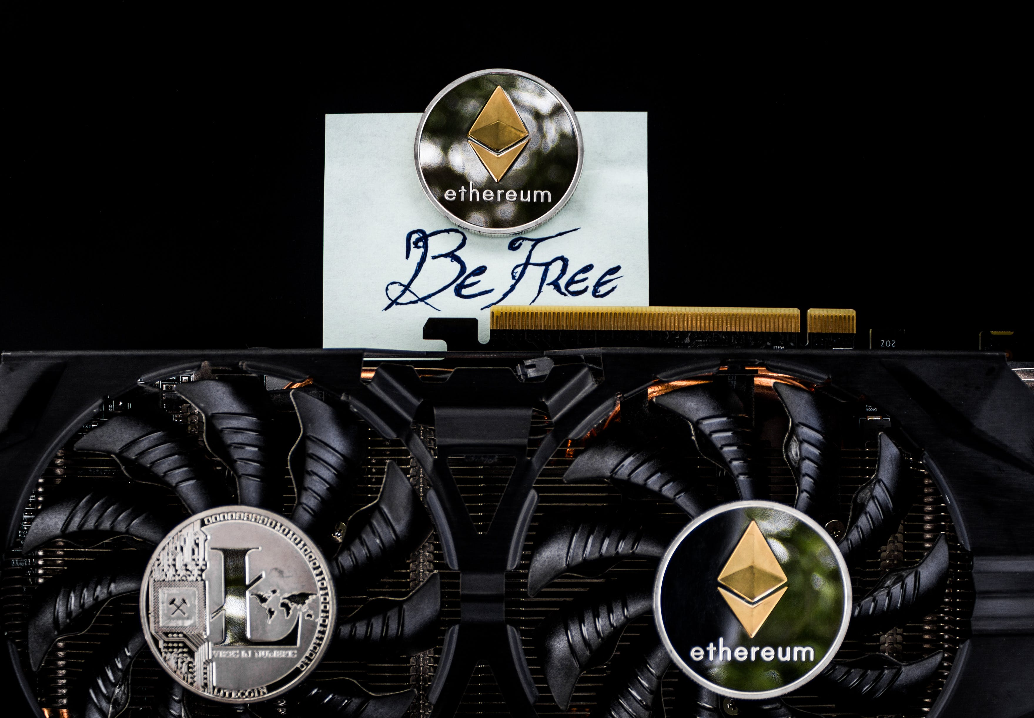 Free stock photo of be free, coin, concept, crypto mining