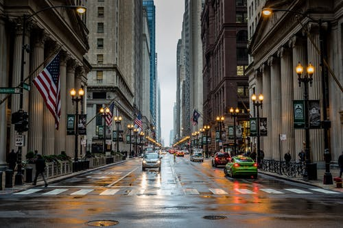 Darmowe zdjęcie z galerii z ameryka, batman, chicago, droga