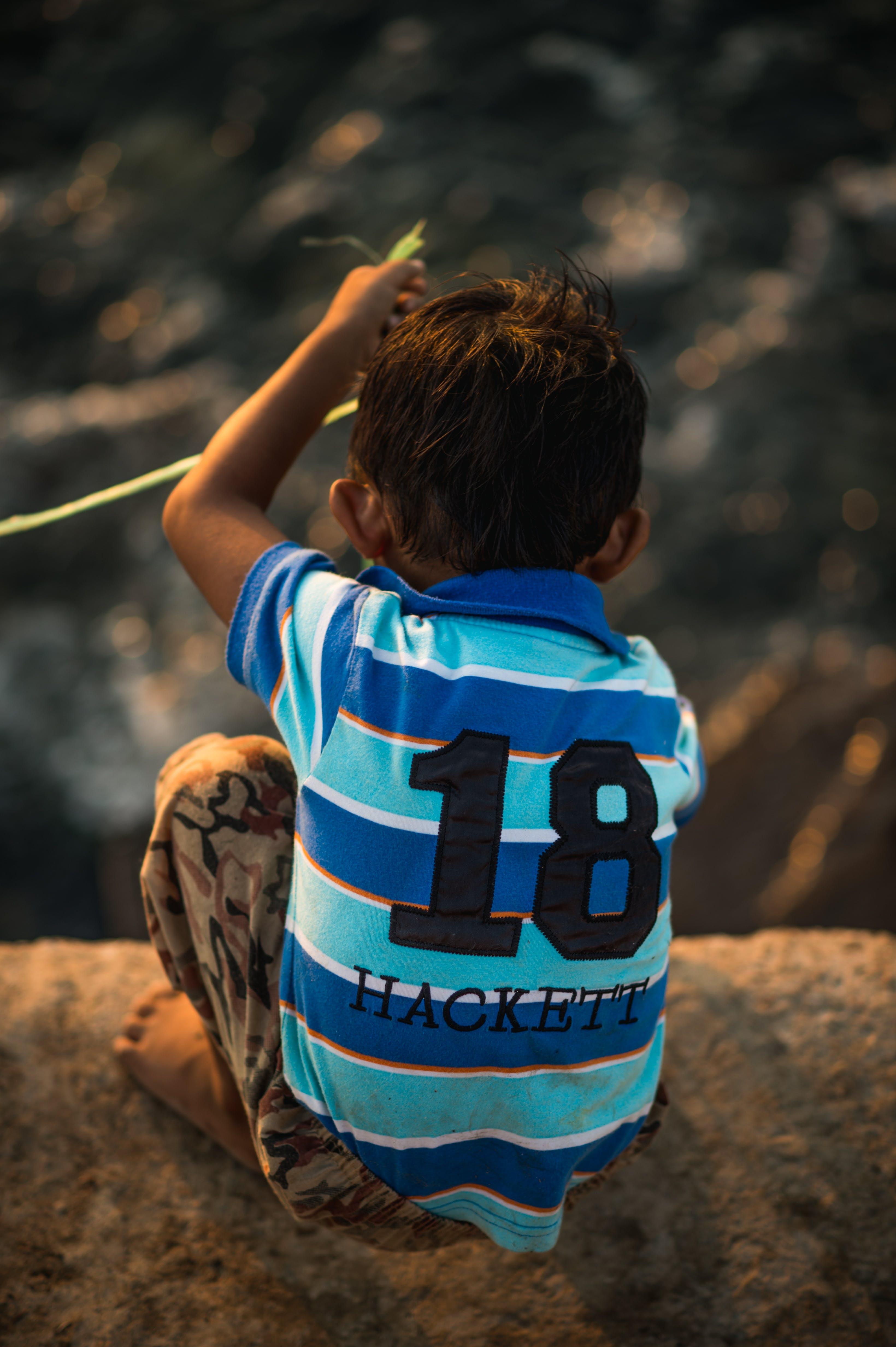 Free stock photo of fishing, light, dream, child