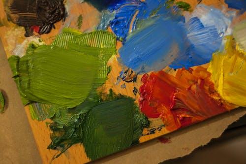Gratis arkivbilde med farge, kunst, landskap, maling