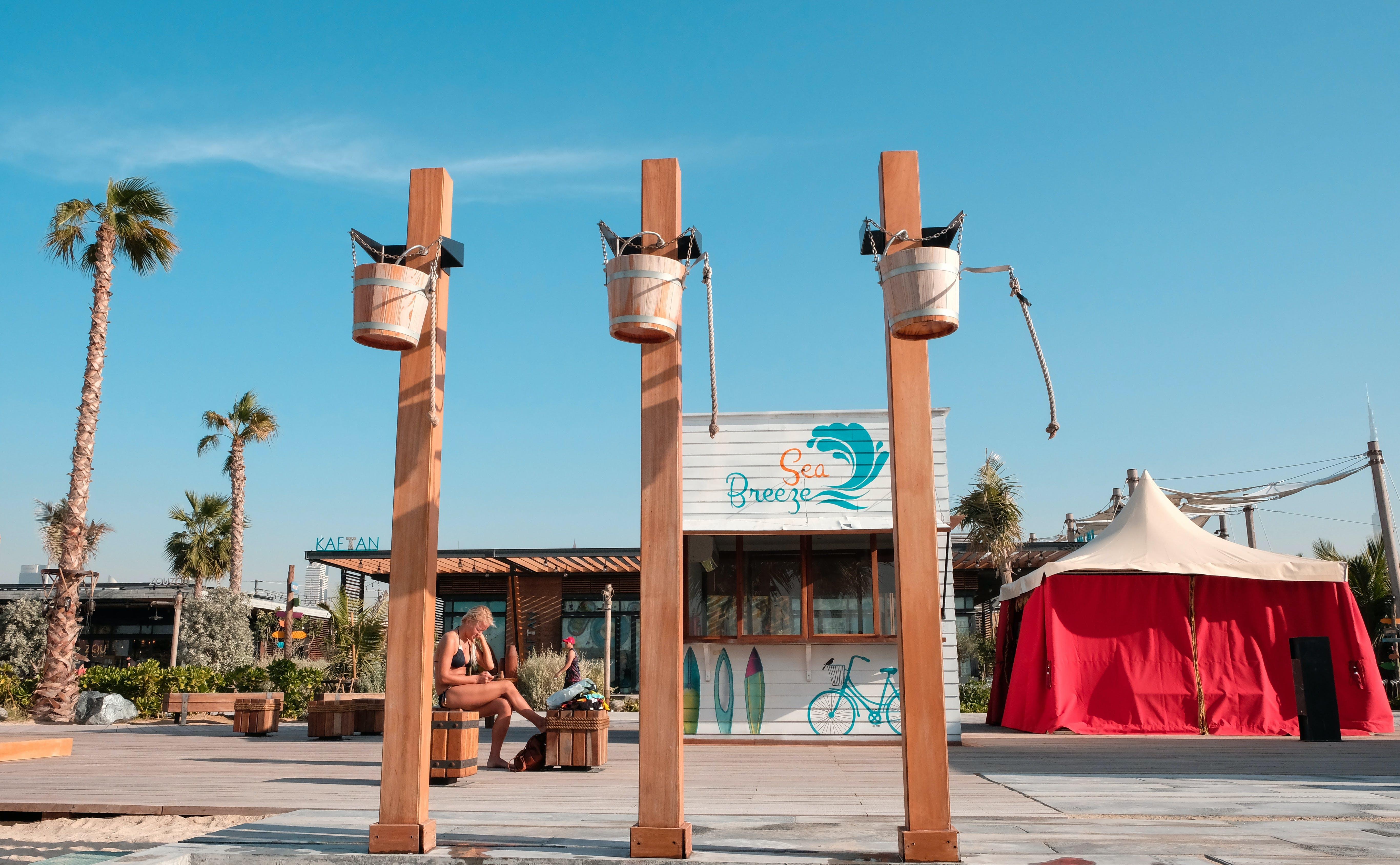 Free stock photo of bar cafe, dubai, lamer, seaside