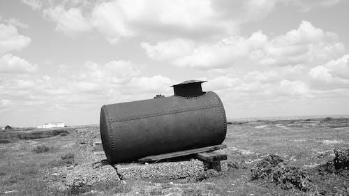 タンク, フィールド, モノクロ, モノクロームの無料の写真素材