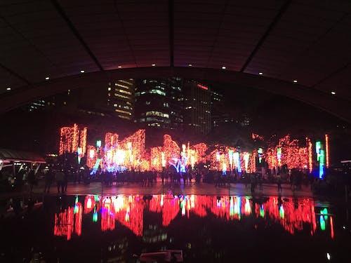 Gratis stockfoto met ayala, Azië, kerstlampen, stadspark