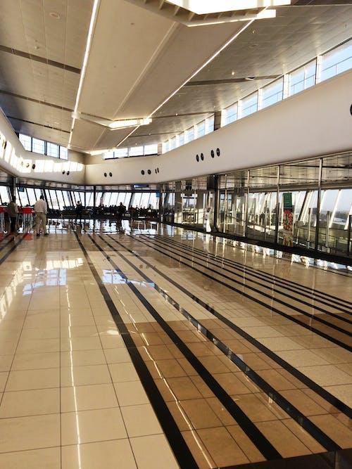 地板, 飛機場 的 免费素材照片
