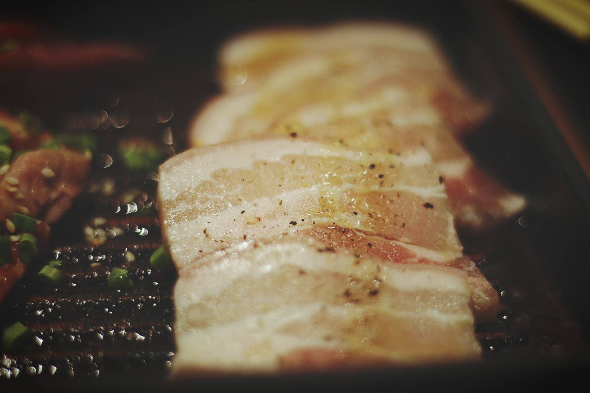 Tilt Photography of Grill Meats
