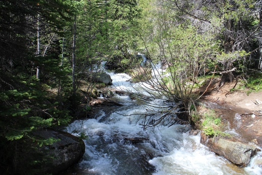 Free stock photo of stream, colorado, rocky mountain