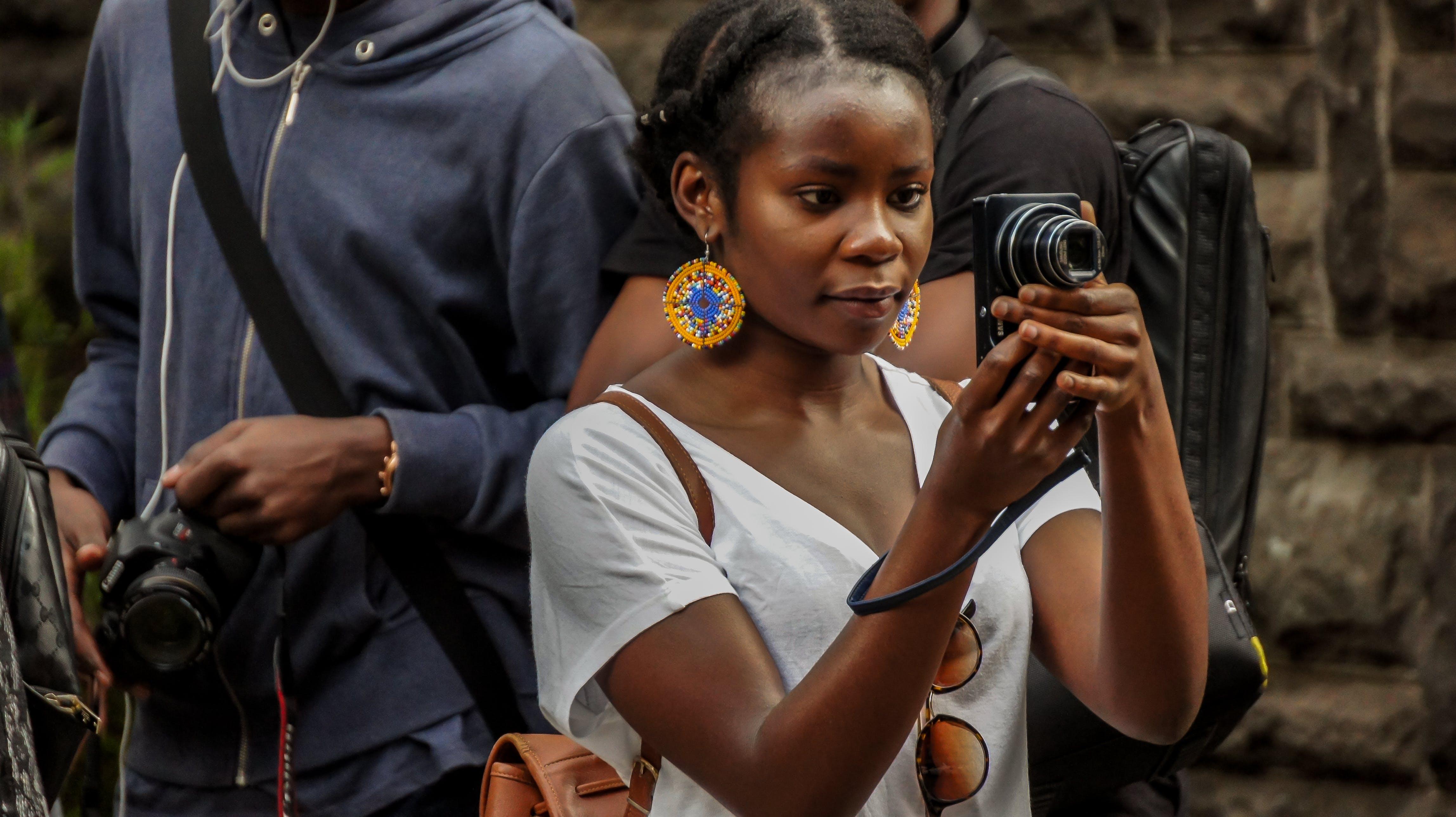 Free stock photo of africa, black, female, Kenya