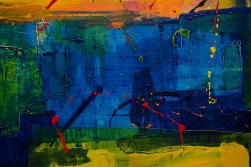 Darmowe zdjęcie z galerii z artystyczny, kolor, malarstwo abstrakcyjne, obraz