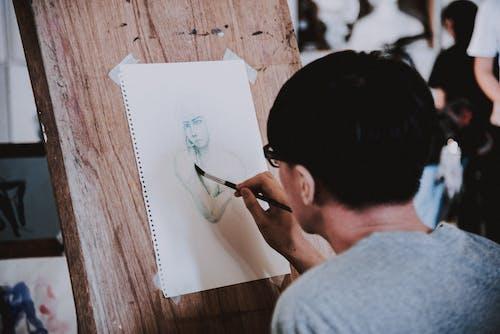 Fotos de stock gratuitas de dibujando, dibujar, dibujo, hombre