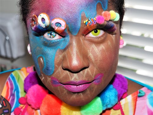 Free stock photo of artistic makeup, face paint