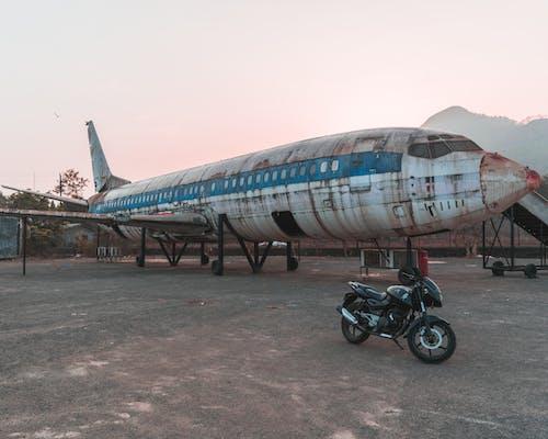 Free stock photo of abandoned, aeroplane, airplane, apocalypse