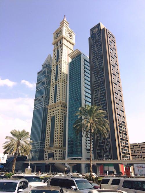 Безкоштовне стокове фото на тему «іловедубай, вид на місто, Дубай, лабіринтська вежа дубаї»