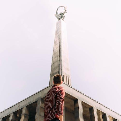 Imagine de stoc gratuită din arhitectură, cel mai înalt, cer albastru, clădire