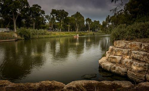 Fotos de stock gratuitas de amanecer, paisaje, parque, remero