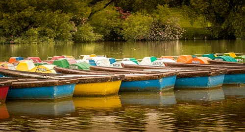 Free stock photo of boats, landscape