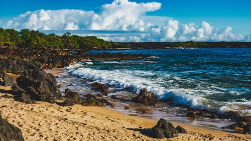Free stock photo of adventure, beach, clouds, lava