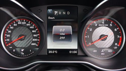 Fotos de stock gratuitas de automóvil, calibrar, control, cuentakilómetros