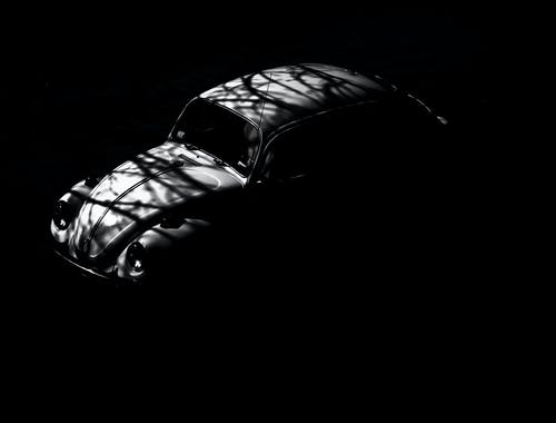汽車, 漆黑, 福斯汽車, 經典 的 免费素材照片