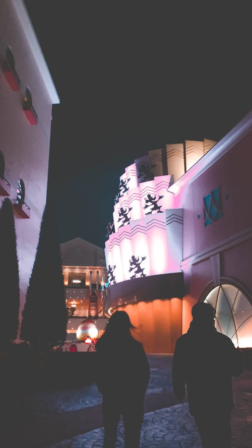 Free stock photo of disneyland, japan, nightphotography