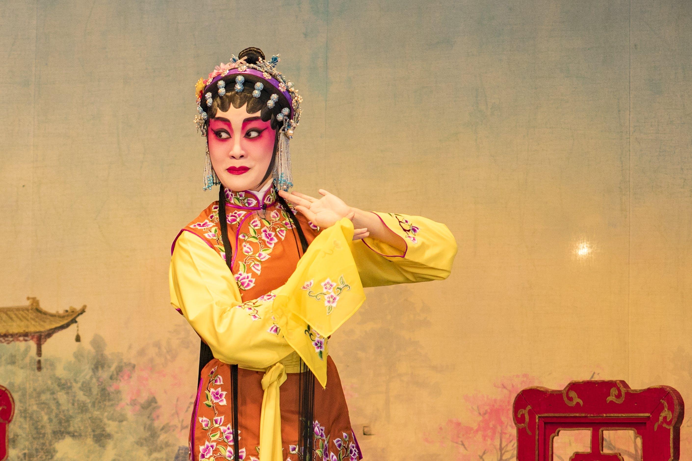 chinese girl, dance, dancing