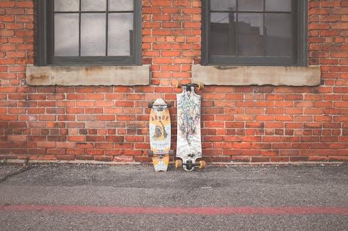 Základová fotografie zdarma na téma beton, lední bruslení, longboard, opuštěný