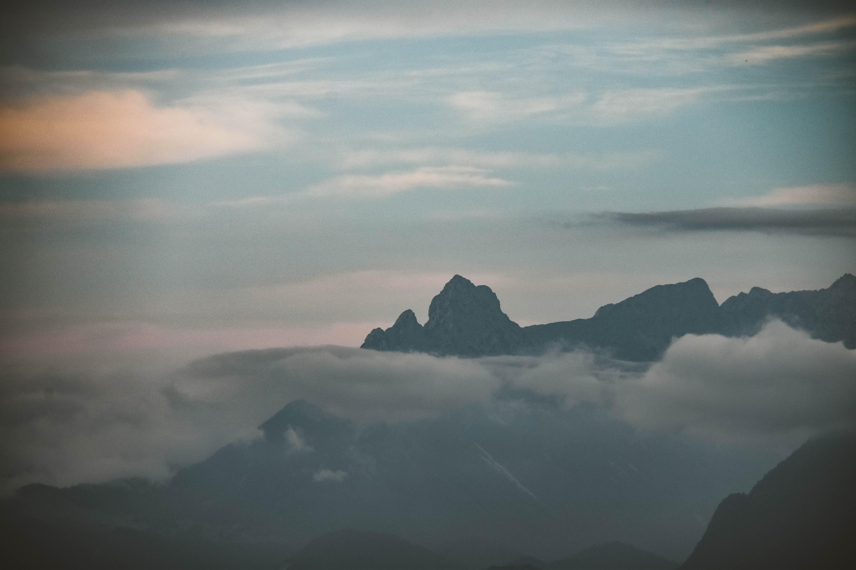 Free stock photo of landscape, sunset, earth, mountain