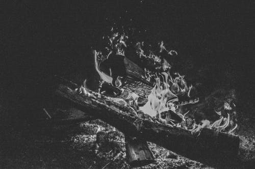 Free stock photo of background image, black and white, bonfire, desktop background