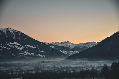 Ingyenes stockfotó festői, hajnal, HD-háttérkép, hegy témában