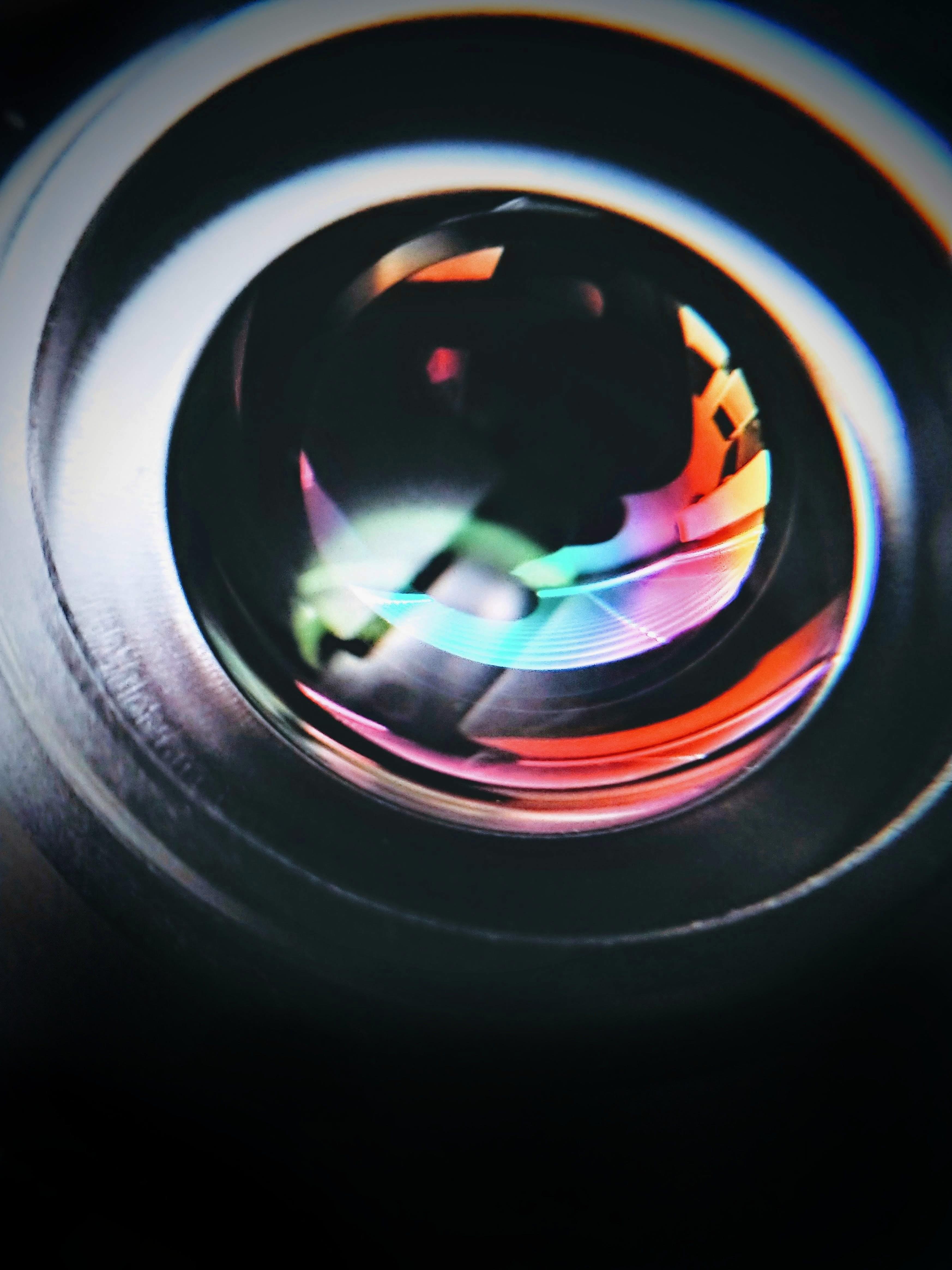 Free stock photo of abstract, camera, colors, dark