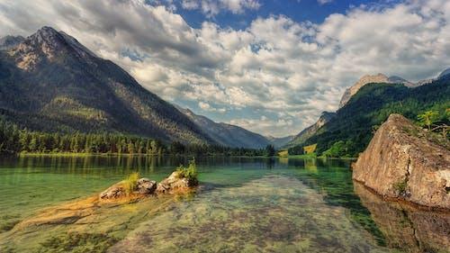 冷靜, 寧靜, 岩石, 景觀 的 免费素材照片