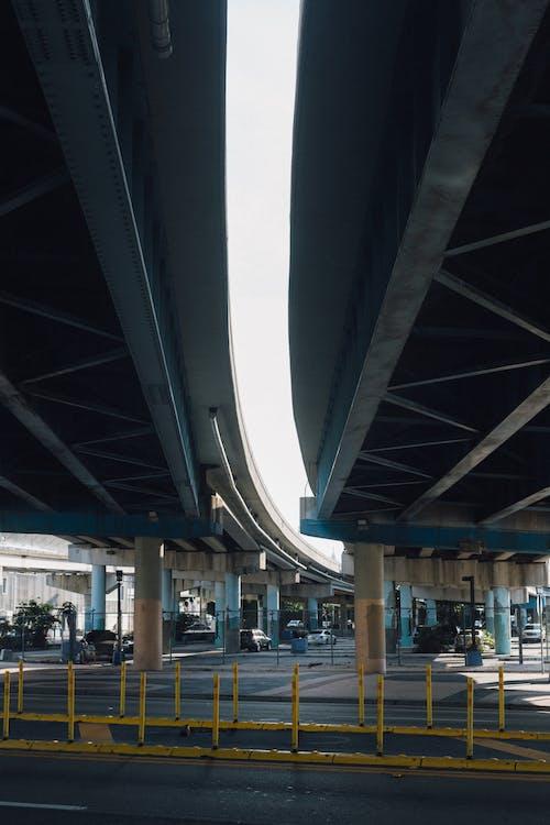 交通, 交通系統, 城市, 天橋 的 免費圖庫相片