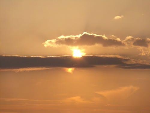 Foto stok gratis langit, matahari terbenam, matahari terbenam yang indah, Wales