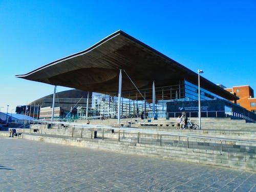 Darmowe zdjęcie z galerii z cardiff, cardiff bay, senydd, walijski rząd