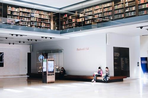 Základová fotografie zdarma na téma architektura, čtení, knihovna, knihovnička