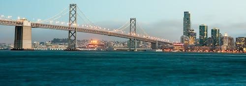 Kostnadsfri bild av arkitektur, Bay Bridge, bro, byggnader