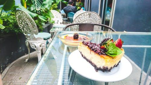 Ilmainen kuvapankkikuva tunnisteilla créme brã © lé © e, hedelmät, herkullista, juustokakku