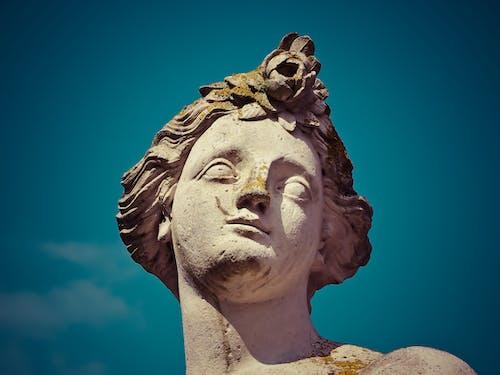 돌, 동상, 예술, 조각상의 무료 스톡 사진