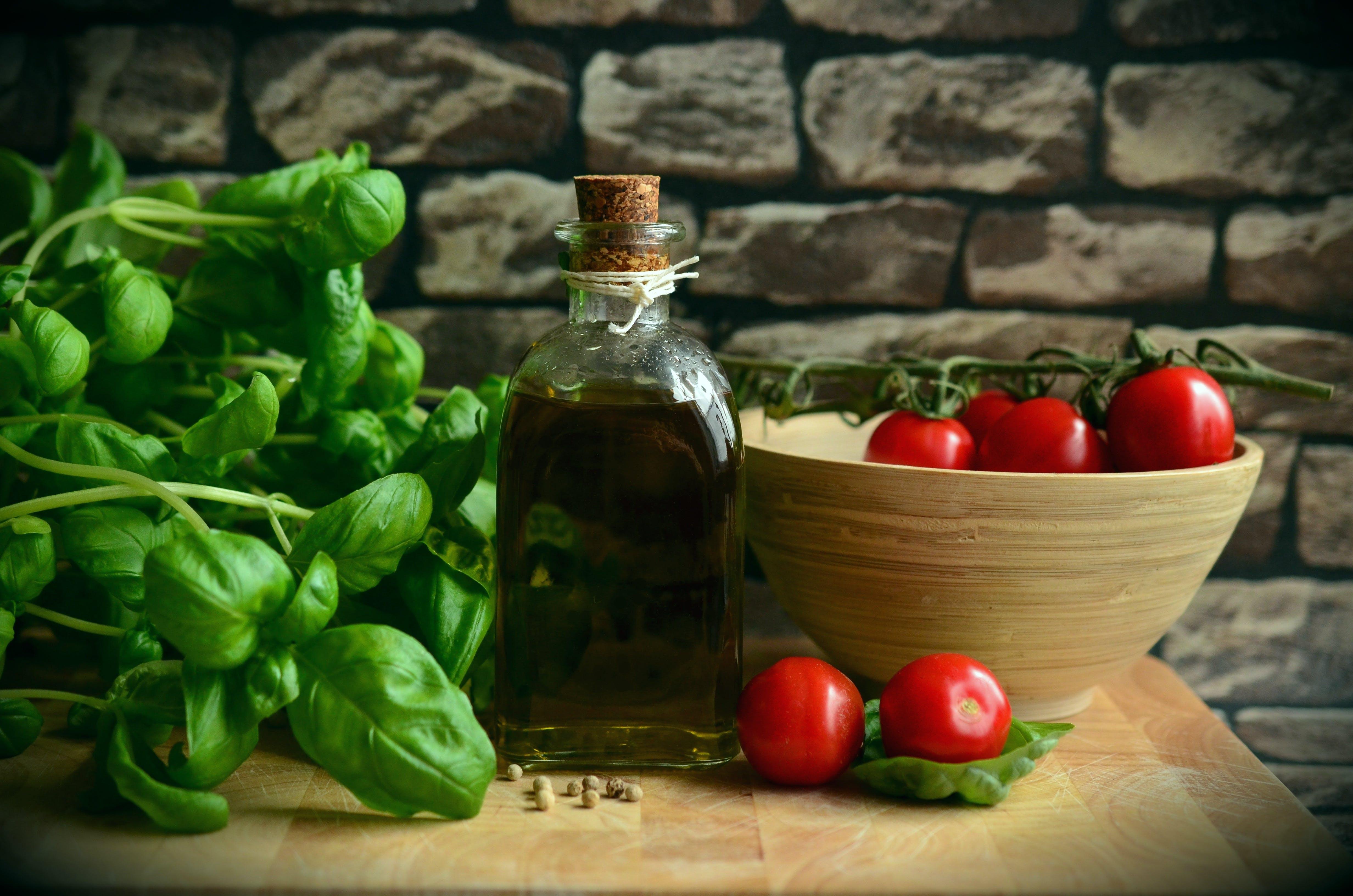 basil, food, fresh