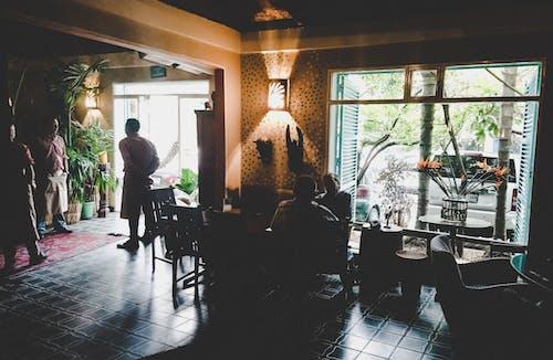 Photos gratuites de à l'intérieur, bistro, café, cafétéria