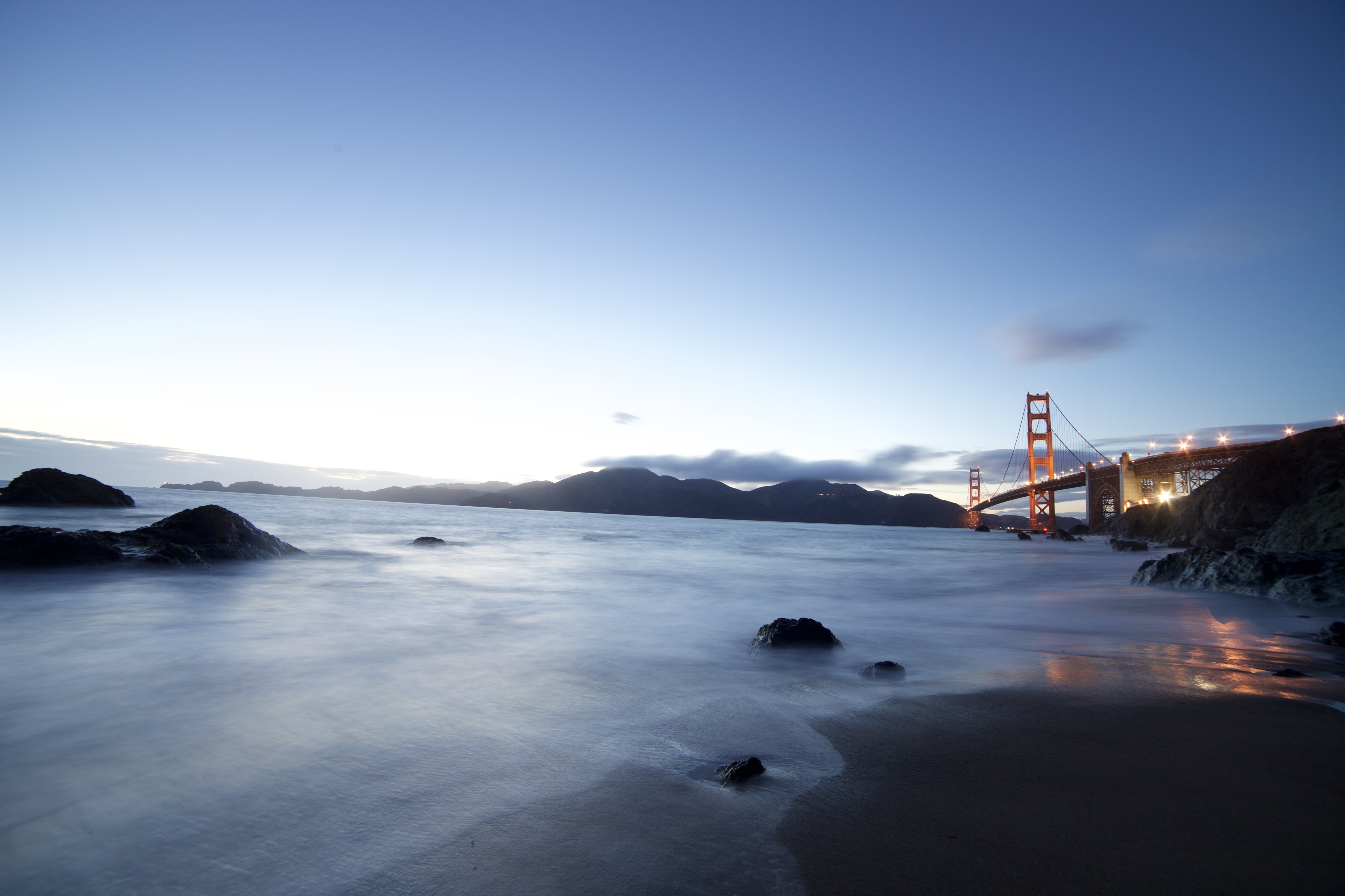 Low-angle Photography of San Francisco Golden Gate Bridge