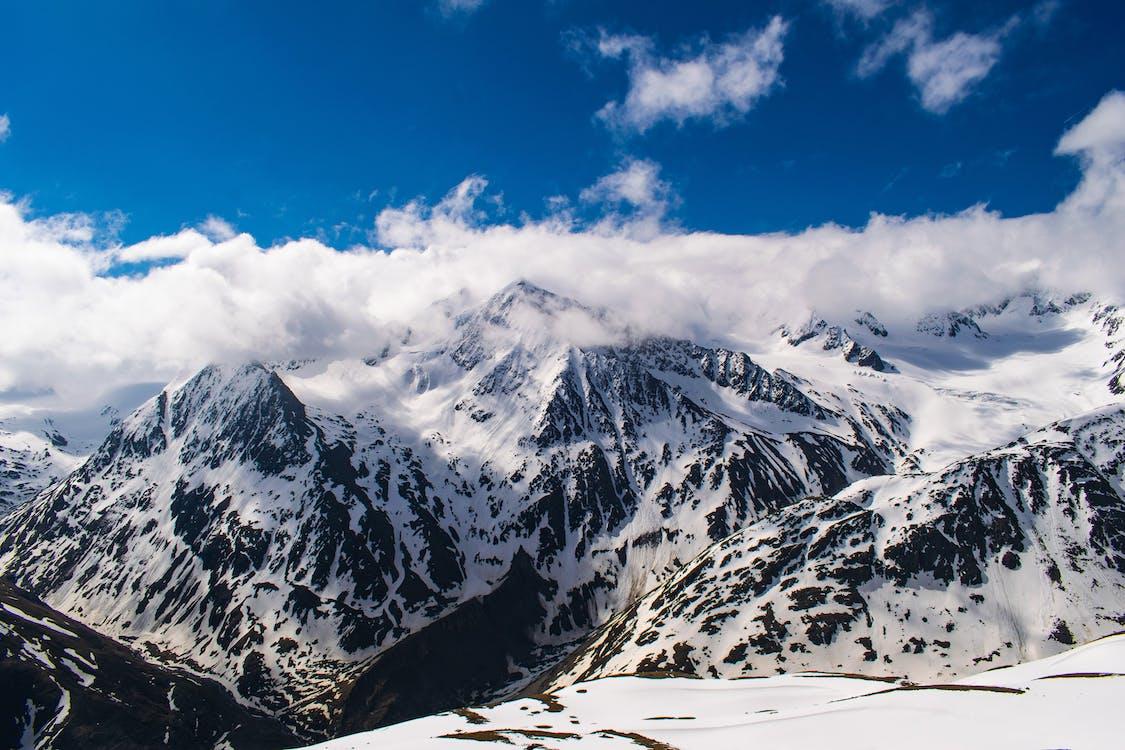 Kostenloses Stock Foto zu alpen, blauer himmel, gletscher