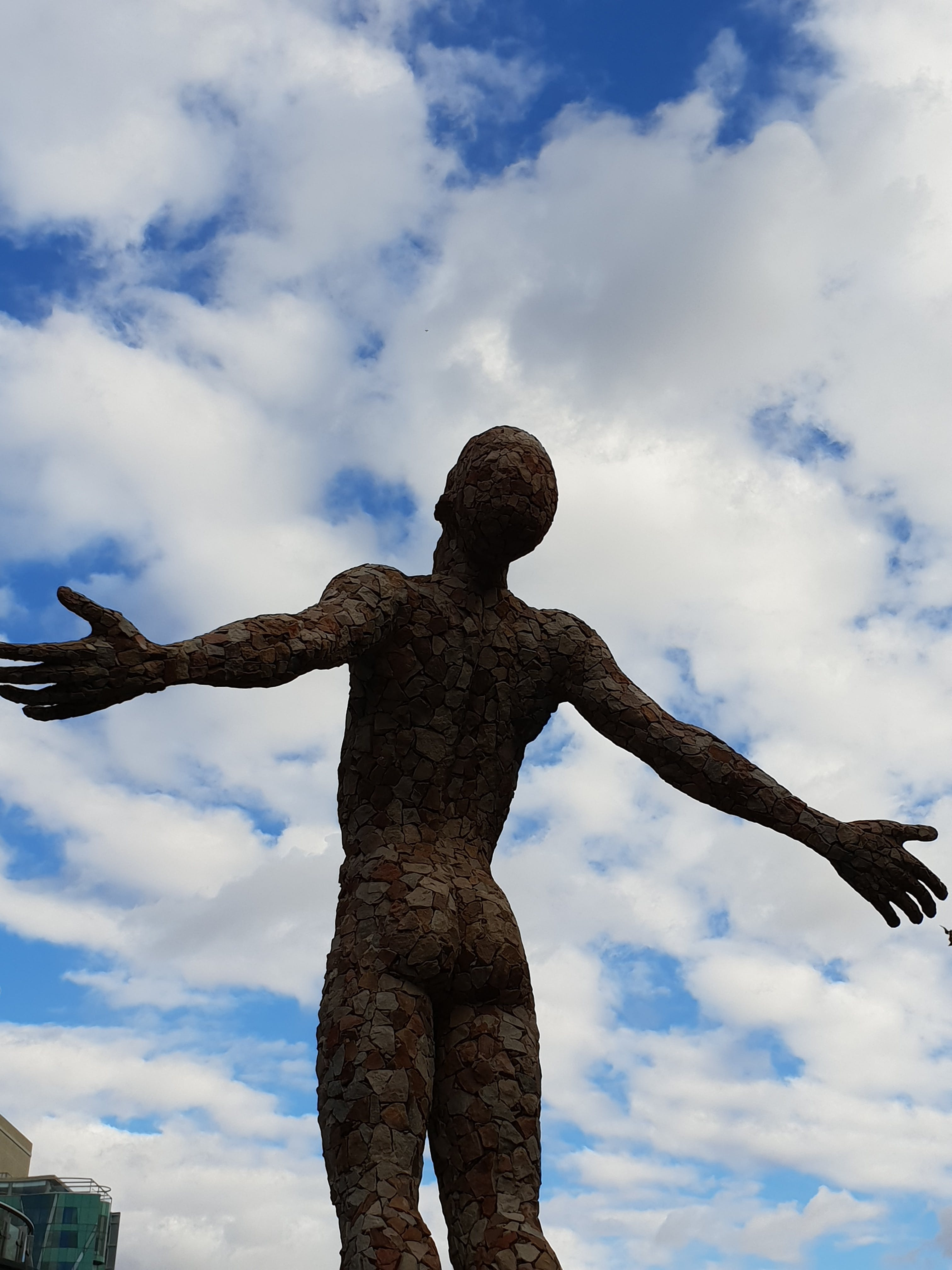 Free stock photo of man, free, freedom, statue