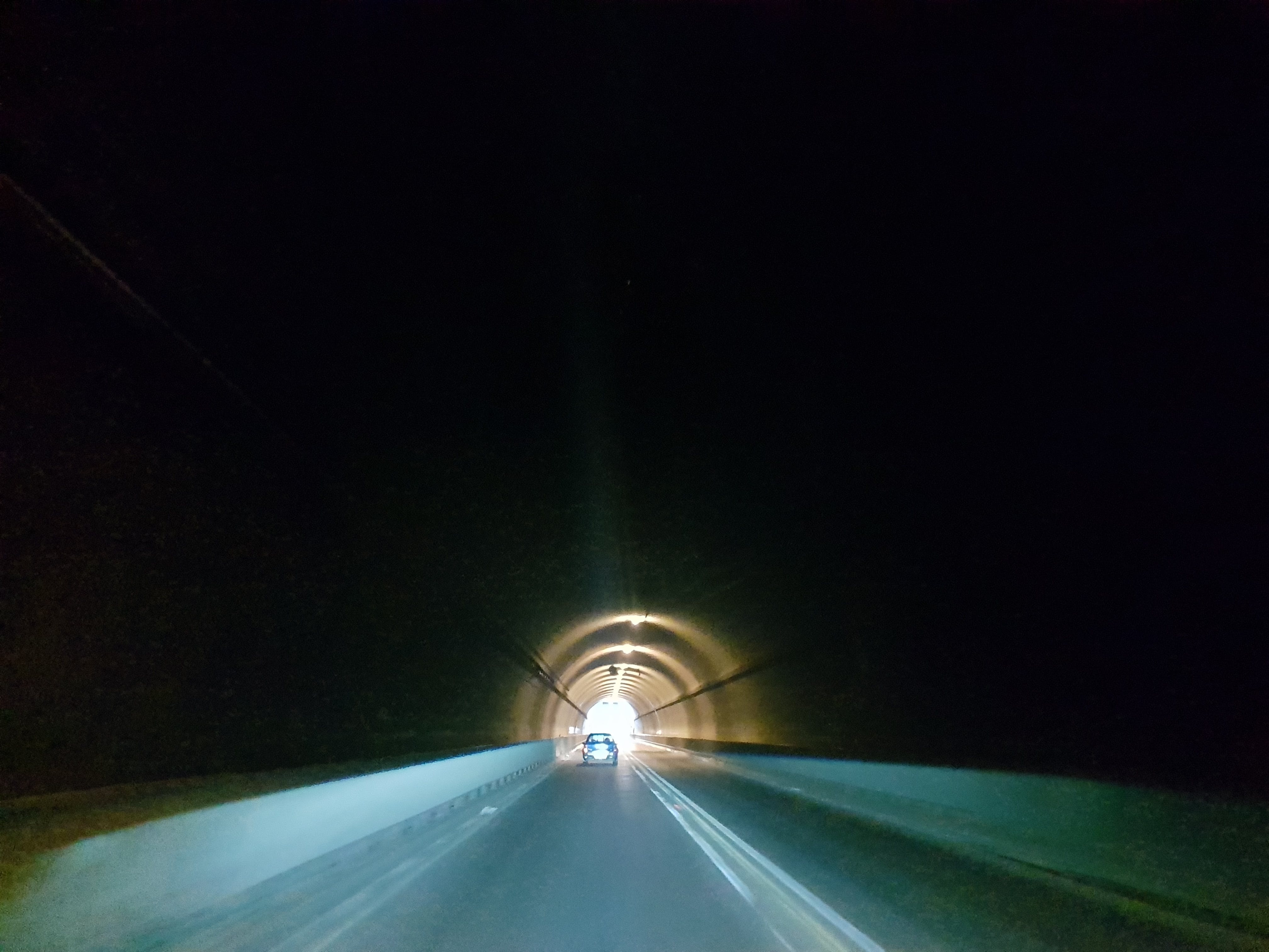 Free stock photo of light, road, tunnel, contrast