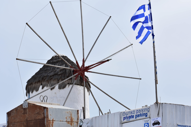 Free stock photo of clear sky, greece, greek, mykonos