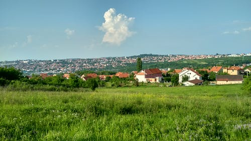 Бесплатное стоковое фото с деревня, замечательный, зеленый, сельская местность