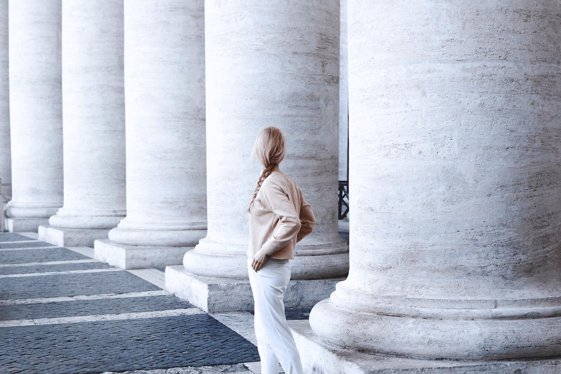arquitectura, Arte, columna