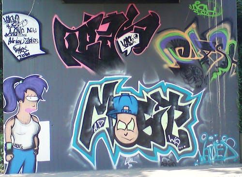 Imagine de stoc gratuită din graffiti