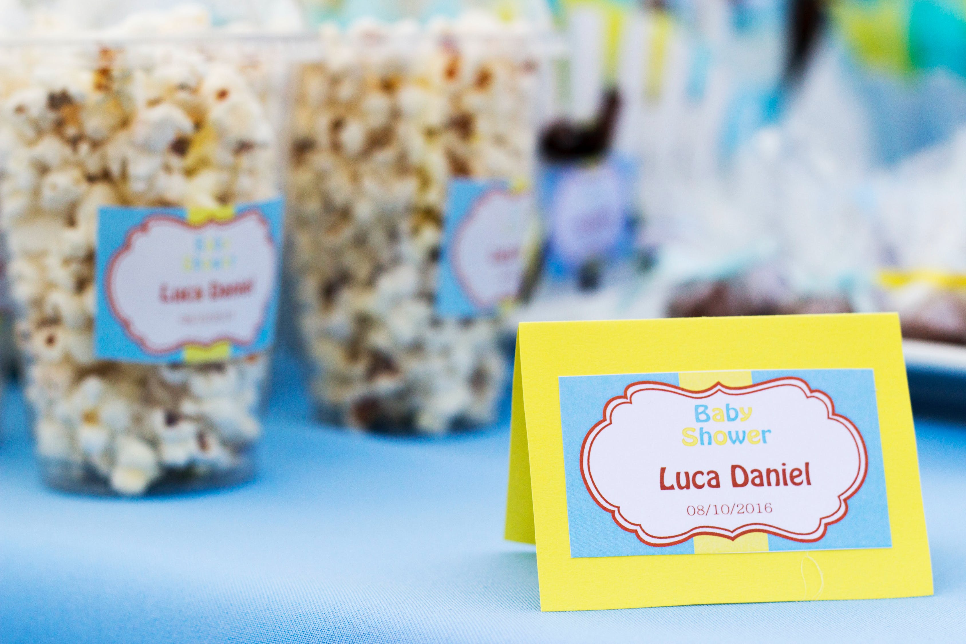 Popcorn Containers in Shallow Focus Photography
