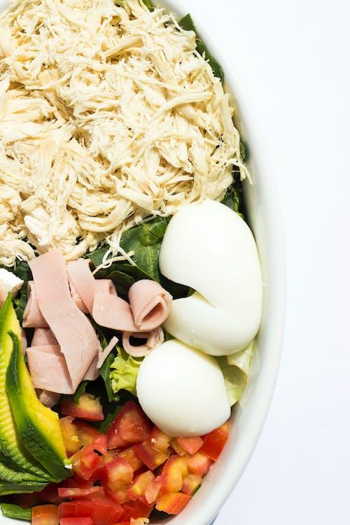 jedlo, šalát, zdravá strava