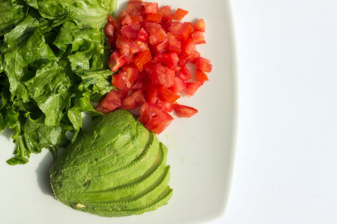 diéta, jedlo, šalát